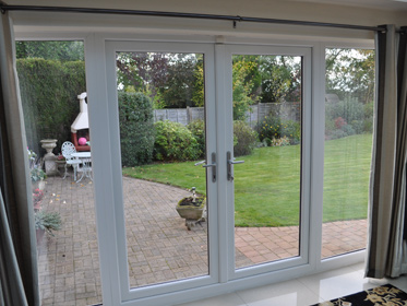 Large upvc french doors floors doors interior design for Patio doors with side panels